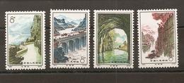 CHINE -  Timbres N°1865/68 - 1949 - ... République Populaire