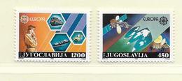 YOUGOSLAVIE  ( EU - 704 )   1988   N° YVERT ET TELLIER  N° 2151/2152    N** - 1945-1992 Socialist Federal Republic Of Yugoslavia