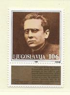 YOUGOSLAVIE  ( EU - 706 )   1988   N° YVERT ET TELLIER  N° 2157    N** - 1945-1992 Socialist Federal Republic Of Yugoslavia