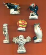 Serie Complète De 6 Feves Géantes Les Zorribles - Characters