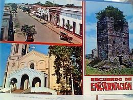 PARAGUAY ENCARNACION VUES  STAMP TIMBRE SELO 20 + 15  COCO E RENDEIRA 1981  GX5755 - Paraguay