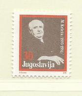 YOUGOSLAVIE  ( EU - 710 )   1988   N° YVERT ET TELLIER  N° 2161    N** - 1945-1992 Socialist Federal Republic Of Yugoslavia