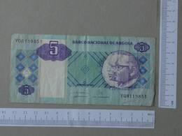 ANGOLA 5 KWANZAS 2011 -    2 SCANS  - (Nº26474) - Angola