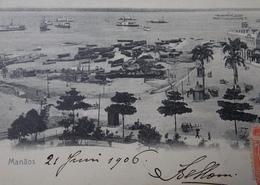 CPA Postcard Brazil Brasil - MANAUS MANAOS - 1906 Harbour View - Manaus