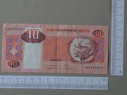 ANGOLA 10 KWANZAS 2011 -    2 SCANS  - (Nº26475) - Angola