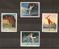 CHINE -  Timbres N°1887/90 - 1949 - ... People's Republic