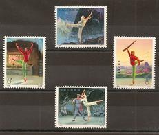 CHINE -  Timbres N°1887/90 - 1949 - ... République Populaire