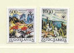YOUGOSLAVIE  ( EU - 714 )   1988   N° YVERT ET TELLIER  N° 2165/2166    N** - 1945-1992 Socialist Federal Republic Of Yugoslavia