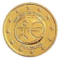 ITALIE 2009 - 2 EUROS COMMEMORATIVE - E.M.U. - FACE COMMUNE  - PLAQUE OR - Italie