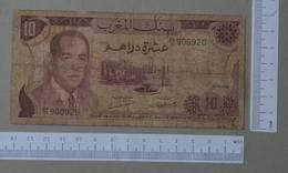 MOROCCO 10 DIRHAMS 1970 -    2 SCANS  - (Nº26478) - Marocco