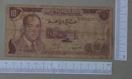 MOROCCO 10 DIRHAMS 1970 -    2 SCANS  - (Nº26478) - Morocco