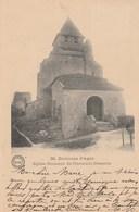 CPA. Environs D'Agen. - Eglise Romane De Clermont-Dessous. Phototypie F. Perret, Agen. N°36 - France