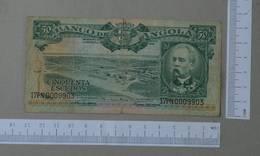 ANGOLA 50 ESCUDOS 1956 -    2 SCANS  - (Nº26479) - Angola