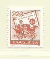 YOUGOSLAVIE  ( EU - 717 )   1988   N° YVERT ET TELLIER  N° 2171    N** - 1945-1992 Socialist Federal Republic Of Yugoslavia