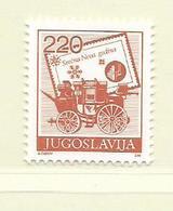 YOUGOSLAVIE  ( EU - 718 )   1988   N° YVERT ET TELLIER  N° 2171    N** - 1945-1992 Socialist Federal Republic Of Yugoslavia