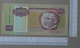 ANGOLA 100 KWANZAS 1991 -    2 SCANS  - (Nº26481) - Angola