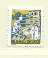 YOUGOSLAVIE  ( EU - 719 )   1988   N° YVERT ET TELLIER  N° 2172    N** - 1945-1992 Socialist Federal Republic Of Yugoslavia