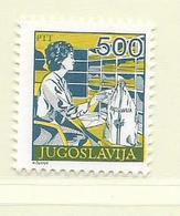 YOUGOSLAVIE  ( EU - 720 )   1988   N° YVERT ET TELLIER  N° 2172    N** - 1945-1992 Socialist Federal Republic Of Yugoslavia
