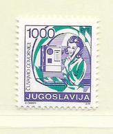 YOUGOSLAVIE  ( EU - 723 )   1988   N° YVERT ET TELLIER  N° 2173    N** - 1945-1992 Socialist Federal Republic Of Yugoslavia