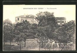CPA Chevilly, Sanatorium Des Roses, Vue D'ensemble - France