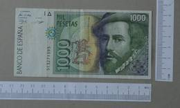 SPAIN 1000 PESETAS 1992 -    2 SCANS  - (Nº26486) - [ 4] 1975-… : Juan Carlos I