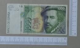 SPAIN 1000 PESETAS 1992 -    2 SCANS  - (Nº26487) - [ 4] 1975-… : Juan Carlos I