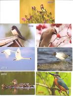 7 Pocket Calendars  BIRDS  2010  Estia - Calendars