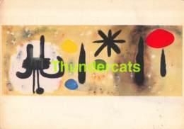 CPSM JOAN MIRO PEINTURE 1953 COLLECTION MAEGHT PARIS - Musées
