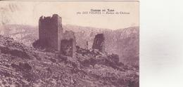 CPA - 362. Gorges Du TARN - LES VIGNES Ruines Du Château - Sonstige Gemeinden