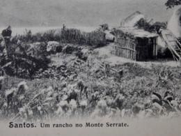 CPA Postcard Brazil Brasil - SANTOS - Um Rancho No Monte Serrate - Other