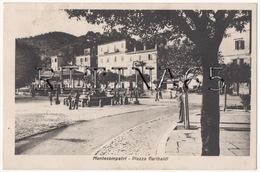 RM117 !!! MONTECOMPATRI PIAZZA GARIBALDI 1948 F.P. !!! - Italia