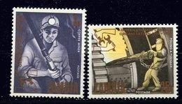 Zambie ** N° 55/56 - Cinq. De L' OIT - Zambia (1965-...)