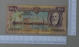 ANGOLA 20 ESCUDOS 1956 -    2 SCANS  - (Nº26493) - Angola