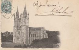 CPA. St-HILAIRE-DU-HARCOUET. - L'Eglise. Phot. Legrix-Mauduit. 1900 - Saint Hilaire Du Harcouet