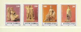 YOUGOSLAVIE  ( EU - 732 )   1988   N° YVERT ET TELLIER  N° 2190/2193    N** - 1945-1992 Socialist Federal Republic Of Yugoslavia