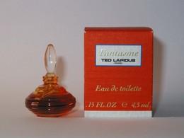 TED LAPIDUS : Fantasme, Eau De Toilette 4,5 Ml. Version 1992, Parfait état - Miniatures Womens' Fragrances (in Box)
