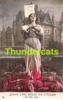 SERIE NO 744 COMPLET  DE 10 CPA LA VIE HISTOIRE DE JEANNE D'ARC ROUEN - Histoire