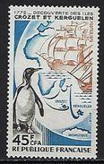 """Reunion YT 407 """" Crozet Et Kerguelen """" 1972 Neuf** - Reunion Island (1852-1975)"""