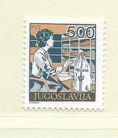 YOUGOSLAVIE  ( EU - 738 )   1989   N° YVERT ET TELLIER  N° 2208    N** - 1945-1992 Socialist Federal Republic Of Yugoslavia