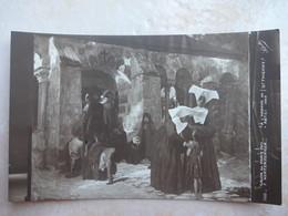 CPA Salon De Paris 1913 A L'abbaye De St Thierry F. HERTENBERGER - Publicité COUTURIEUX - Peintures & Tableaux
