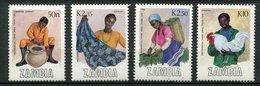 Zambie ** N° 441 à 444  - Campagne De La Consommation Des Produits Locaux - Zambia (1965-...)