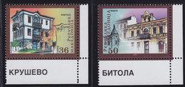 Macedonia 2002 Urban Architecture, MNH (**) Michel 260-261 - Macedonia