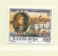YOUGOSLAVIE  ( EU - 742 )   1989   N° YVERT ET TELLIER  N° 2215    N** - 1945-1992 Socialist Federal Republic Of Yugoslavia