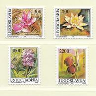 YOUGOSLAVIE  ( EU - 743 )   1989   N° YVERT ET TELLIER  N° 2216/2219    N** - 1945-1992 Socialist Federal Republic Of Yugoslavia