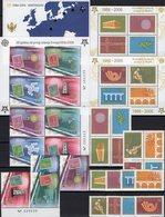 Perf.Jugoslavija Serbia 3257/4,VB+Blocks 59/60A,Crna Gora 108/1,VB+Bl.2A/3 ** 122€ Hb S/s Blocs Sheets Bf CEPT 2006 - Joint Issues