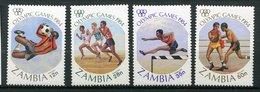 Zambie ** N° 302 à 305 - J.O De Los Angelès - Zambia (1965-...)