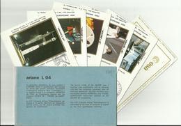 Lancement Fusée ARIANE L04 - 20/12/1981 - Pochette Lancement CNES - 7 Documents - CENTRE SPATIAL GUYANAIS - ESPACE - Europa