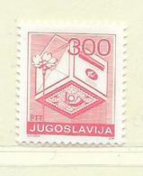YOUGOSLAVIE  ( EU - 746 )   1989   N° YVERT ET TELLIER  N° 2223A    N** - 1945-1992 Socialist Federal Republic Of Yugoslavia