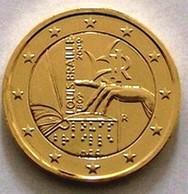 ITALIE 2009 - 2 EUROS COMMEMORATIVE - LOUIS BRAILLE - PLAQUE OR - Italie