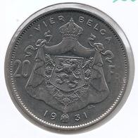 ALBERT I * 20 Frank / 4 Belga 1931 Vlaams  Pos.A * Z.Fraai / Prachtig * Nr 9801 - 1909-1934: Albert I